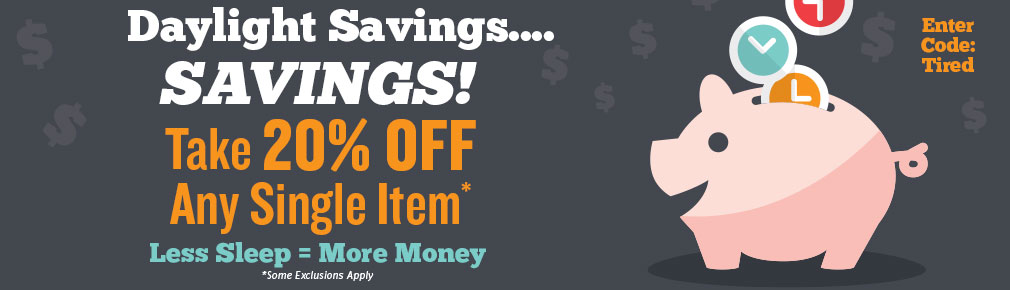 Save 20% on Any Item!