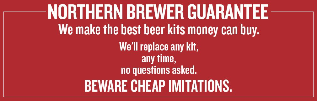Beer Recipe Kit Guarantee
