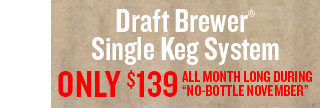 Keg Systems for $139.99