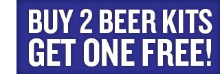 Buy 2 Beer Kits, Get 1 Free