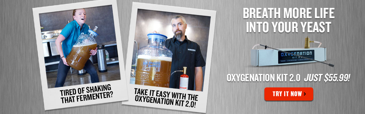 Oxygenation Kit 2.0 - Breath more life into your yeast