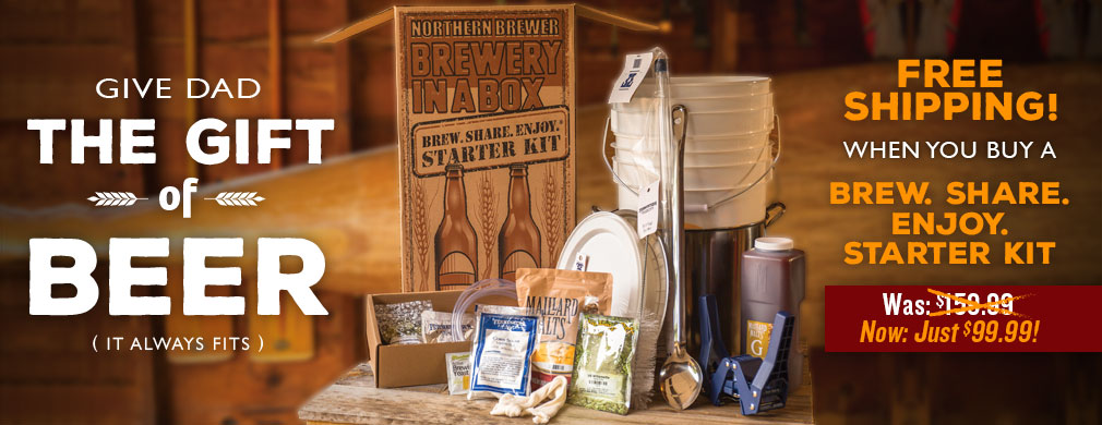 Free Shipping with Brew Share Enjoy Starter Kit