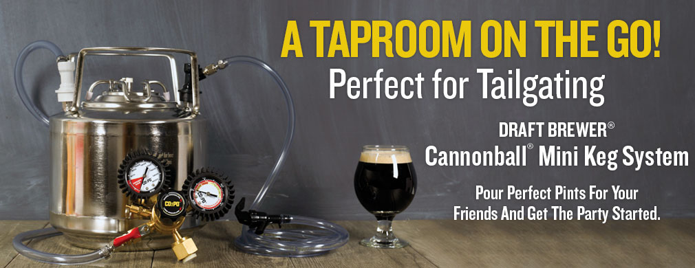 Cannonball Mini Keg