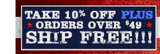 10% Off & Free Shipping On Orders Over $49