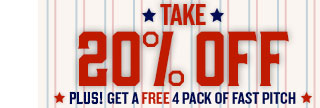 20% OFF All-American