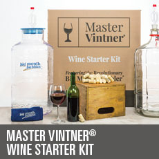 Master Vintner Wine Making Starter Kit
