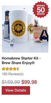 Homebrew Starter Kit - Brew Share Enjoy